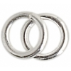 SS.925 Jump Ring O.d. Round Closed .028x4mm Approx 2.70gms